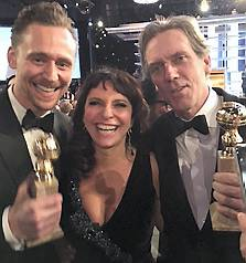 Susanne Bier, Tom Hiddleston, Hugh Laurie