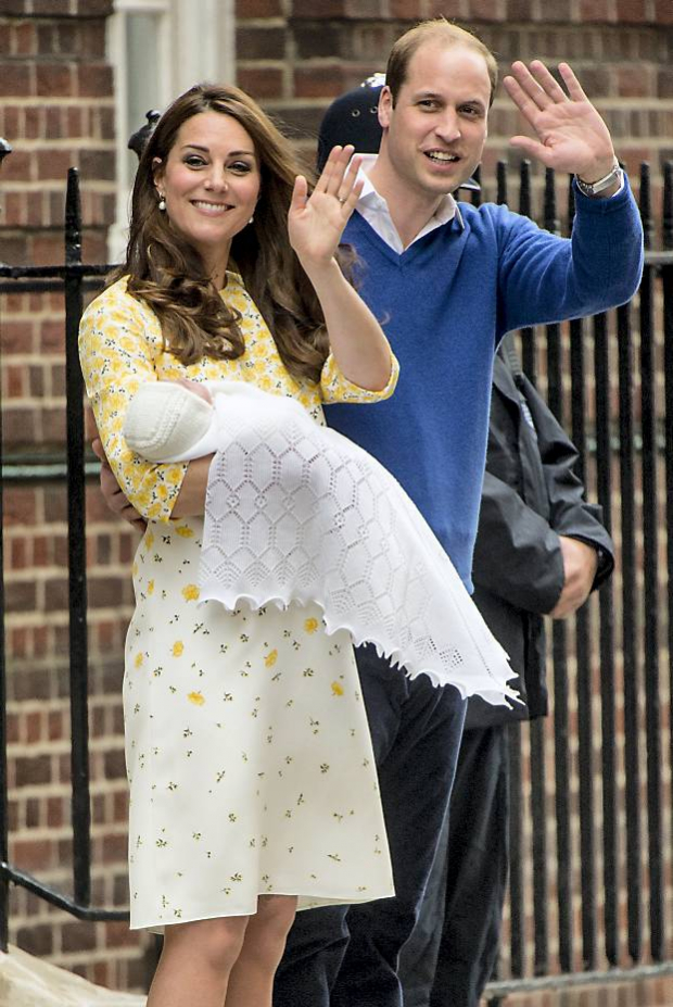 Hertuginde Catherine og prins William