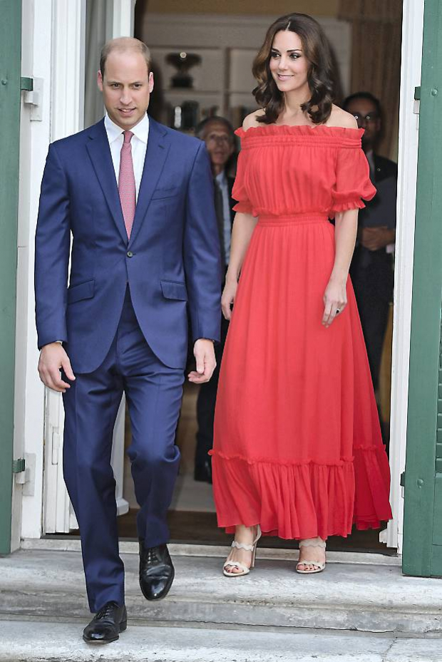 Prins William, Hertuginde Catherine
