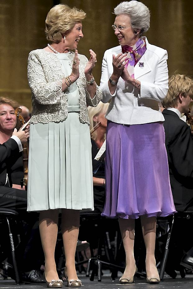 Dronning Anne-Marie, dronning Margrethe