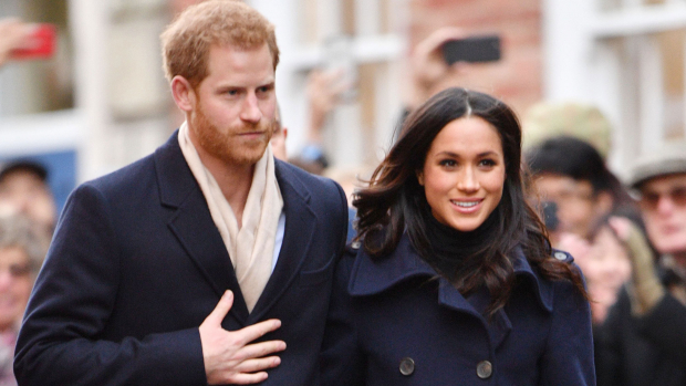 Meghan Markle og prins Harry