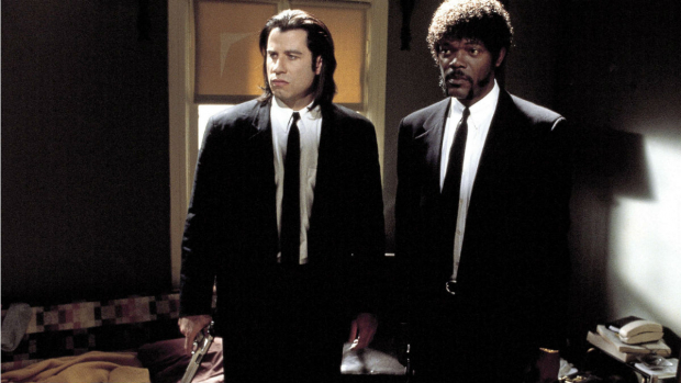 "John Travolta i ""Pulp Fiction"" i 1994."