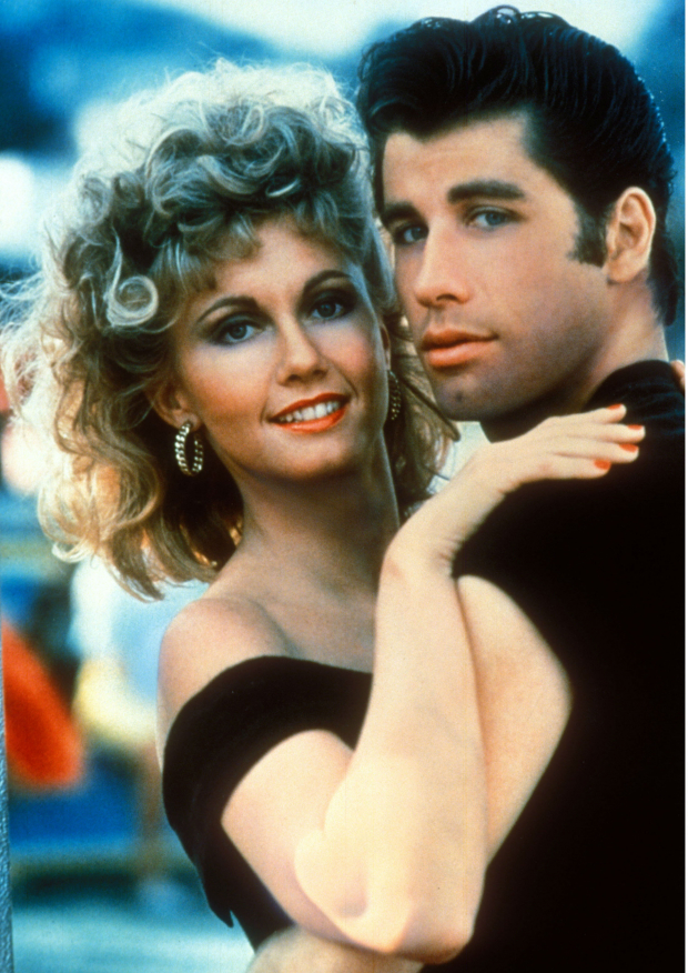 "John Travolta i ""Grease"" i 1978."