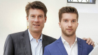 Michael og Andreas Laudrup