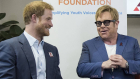 Prins Harry og Sir Elton John