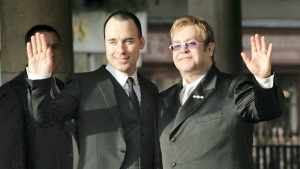 Elton John og David Furnish