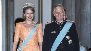 Kong Philippe, dronning Mathilde