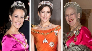 prinsesse Marie, kronprinsesse Mary, dronning Margrethe