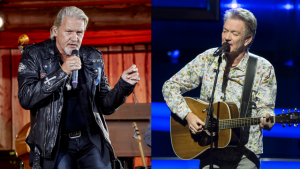 Johnny Logan og Lars Lilholt