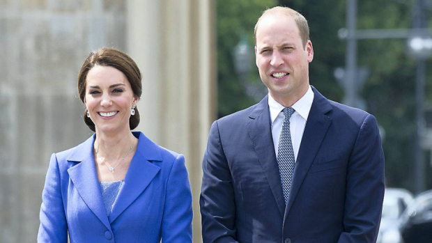 Prins William og hertuginde Catherine