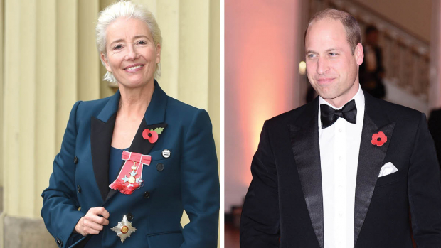 Emma Thompson og prins William