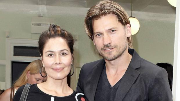 Nikolaj Coster-Waldau with Wife Nukâka Coster-Waldau